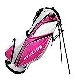 Precise MDX II Golf Stand Bag, Pink