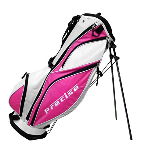 Precise MDX II Golf Stand Bag, Pink by Precise