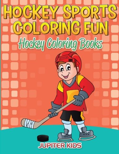 Hockey Sports Coloring Fun: Hockey Coloring Books