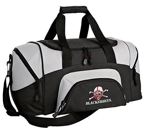 Broad Bay Small Nebraska Blackshirts Duffel Bag University of Nebraska Blackshirts Gym Bags or Suitcase ()
