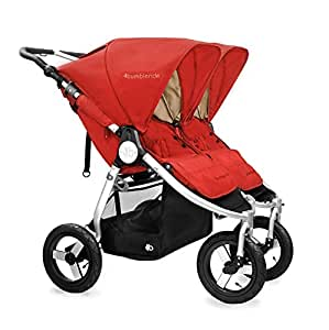 Bumbleride 2016 Indie Twin Stroller with SPF 45 Sun Canopy Extension … (Red Sand)