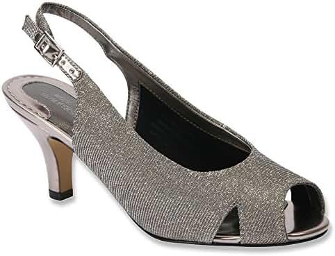 Ros Hommerson Women's Lana Peep Toe Strap Casual Sandal