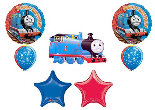 THOMAS THE TANK ENGINE Train BIRTHDAY PARTY Balloons Decorations Supplies by Anagram ()