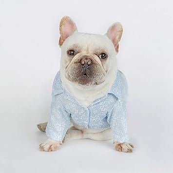 DXJJ Ropa para Perros Bordado Camisa para Mascotas Ropa para Perros Ropa para Gatos Ropa Mediana para Perros pequeños Productos para Mascotas Suministros para Perros Mascotas: Amazon.es: Deportes y aire libre