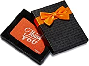 Amazon.ca Gift Card in a Black Gift Box - Thank You Icons