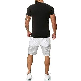 Amazon.com: Conjunto de 2 piezas para hombre deportivo ...