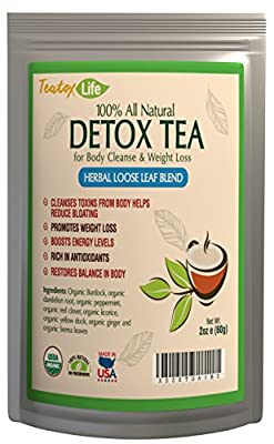 Skinny mint teatox 28/14 day tea for flat tummy detox cleanse weight loss - 28 herbal tea bags
