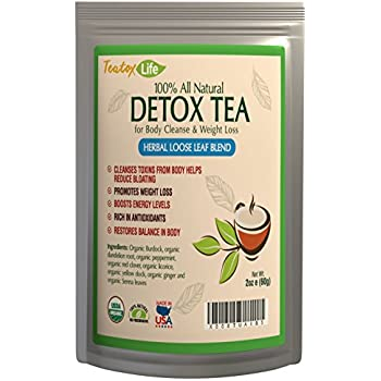 Amazon.com: Teatox Life: Liver Detox tea with dandelion