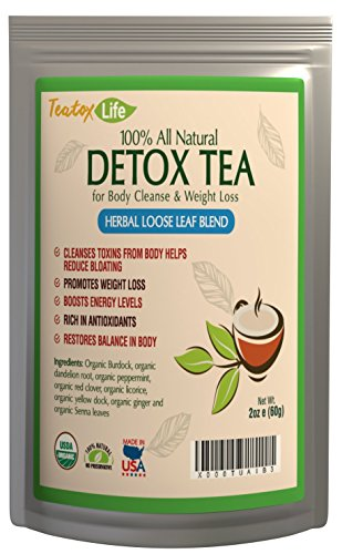 Skinny teatox mint for detox, colon cleanse, constipation, promote 14 or 28 day weight loss | Made in USA| USDA Certified (Juice It Up Fat Burner compare prices)
