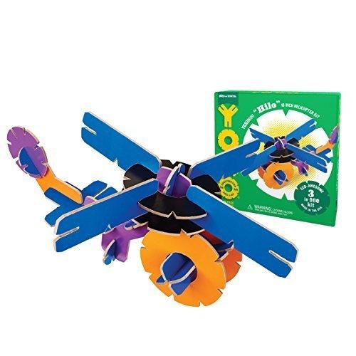 YOXO Hilo Helicopter, Helicopter, Helicopter, 3 in One Kit by YOXO 58e91c