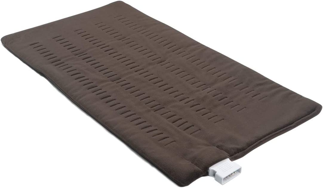 Hellomoto King Size Heating Pad Electric Heating pad with auto Shut Off to Keep Warm and Relieve Pain
