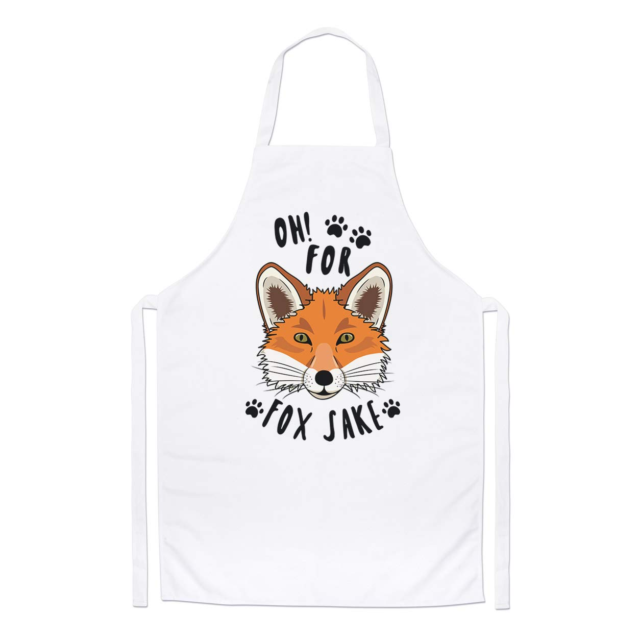 Oh For Fox Sake Chefs Apron Gift Base