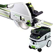 Festool TS 75 EQ Plunge Cut Saw + CT 26 E Dust Extractor Package