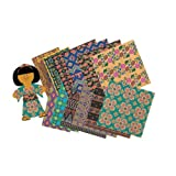 ROYLCO INC. GLOBAL VILLAGE CRAFT PAPERS (Set of 12)