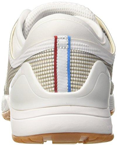 Reebok Crossfit Nano 8.0, Scarpe Sportive Indoor Uomo Bianco (White/Classic White/Excellent Red/Blue/G 000)