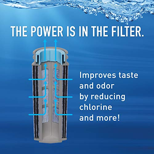 Brita Stream Water Filter, Stream Pitcher Replacement Water Filter, BPA Free – 2 Count by Brita (Image #1)