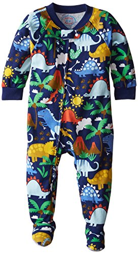 Saras Prints Unisex Footed Pajamas