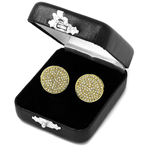 Large Round Circle Screen Earring product image
