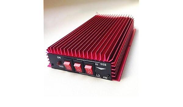 FAYM- 3-30MHz Hf Lineal CB de señal de radio amplificador de energía 100W para Walkie Talkie Portable: Amazon.es: Electrónica