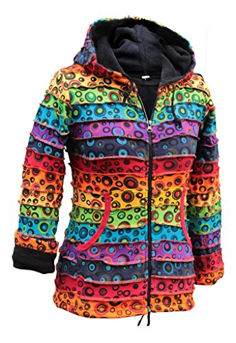 Bulle femmes vif Veste Fashion Multicolore shopoholic hiver xqwtg5IT