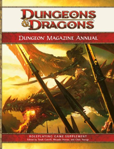 Dungeon Magazine Annual, Vol. 1: A 4th Edition D&D Compilation (D&D Supplement)