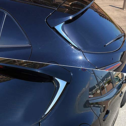 High Flying Für Corolla E210 Hybrid 5 Türer 2019 2021 Obere Chrom Heckklappen Zierleiste Kunststoff Verchromt 2 Stück Nicht Für Corolla Touring Sports Auto