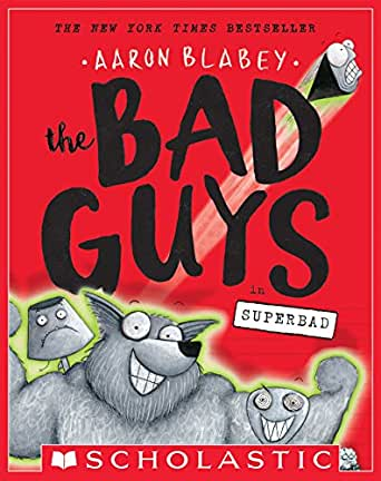 Amazon.com: The Bad Guys in Superbad (The Bad Guys #8