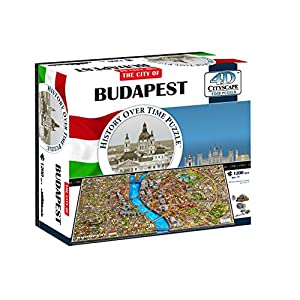 4dcityscape 40088 Budapest Puzzle