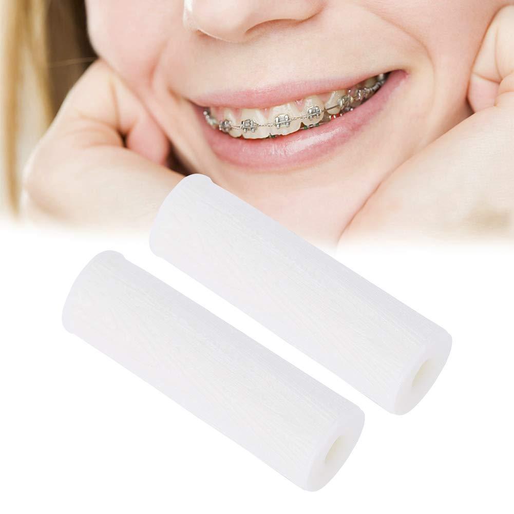 Orthodontie Faire le Aligner 2 pcs Silicone Invisible Correction Retainer Orthodontic Bite Dents M/âcher Aligner Chewies vert