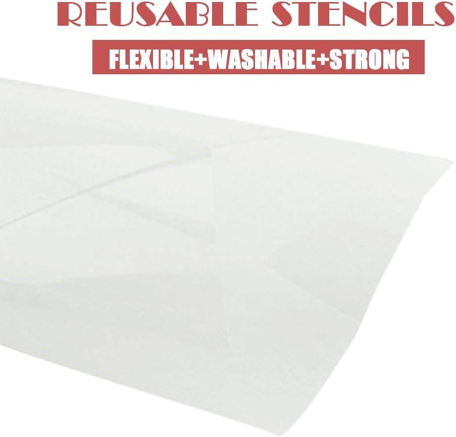 NOT a tissue box! reusable stencil Tissues Stencil 12x3.5 STENCIL