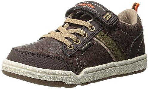 Stride Rite Made 2 Play Kaleb Sneaker ,Brown,9.5 W US Toddle