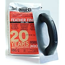 Ardex Feather Finish 10 lbs Bag & Floor Patching Trowel by Body-N-Home