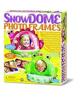 Great Gizmos Snow Dome - Bolas de nieve con marco de fotos