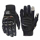 CHCYCLE motorcycle gloves touch screen summer motorbike powersports protective racing gloves (X-Large)