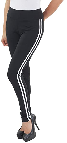 DAMEN STRETCH HOSE Stoffhose Treggings Jeggings Leggins