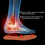 1Pair Magnetic Therapy Health Care Foot Massage Insoles for Women Magnetic Shoe Pads Foot Massager Foot Care Tool