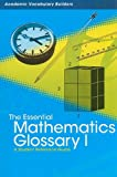 The Essential Mathematics Glossary I, Red Brick Learning, 1429627085