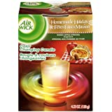 Air Wick Color-Changing Scented Candle, Apple Cinnamon Medley, 4.23 Ounce