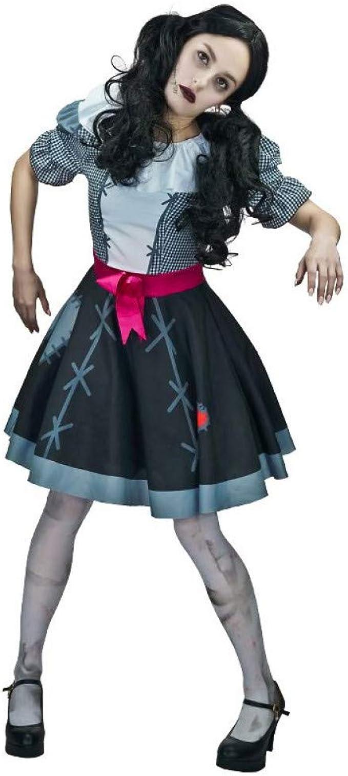 ZAOWEN Disfraz De Halloween Disfraz De Marioneta De Zombie para ...