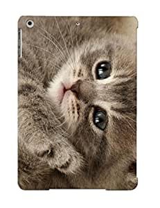 [zwxlyw-1735-idfmess]premium Phone Case For Ipad Air/ Animal Cat Tpu Case Cover(best Gift Choice)