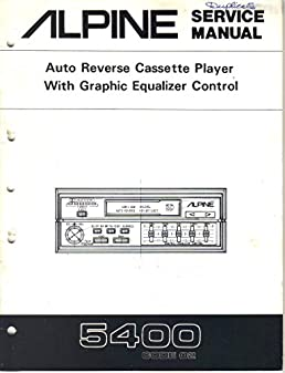 alpine 5400 auto reverse cassette player with graphic equalizer rh amazon com alpine 3210 equalizer wiring diagram alpine 3210 equalizer wiring diagram