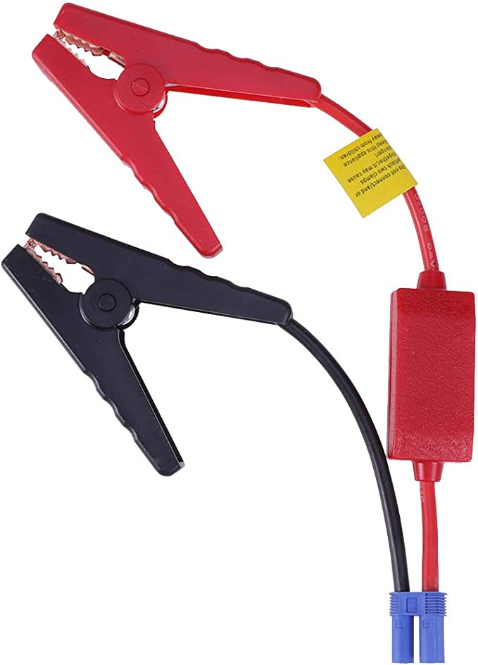 Strong Clamps Clip Emergency Cable for Car Trucks Jump Starter Battery Power Bank Durable Sturdy