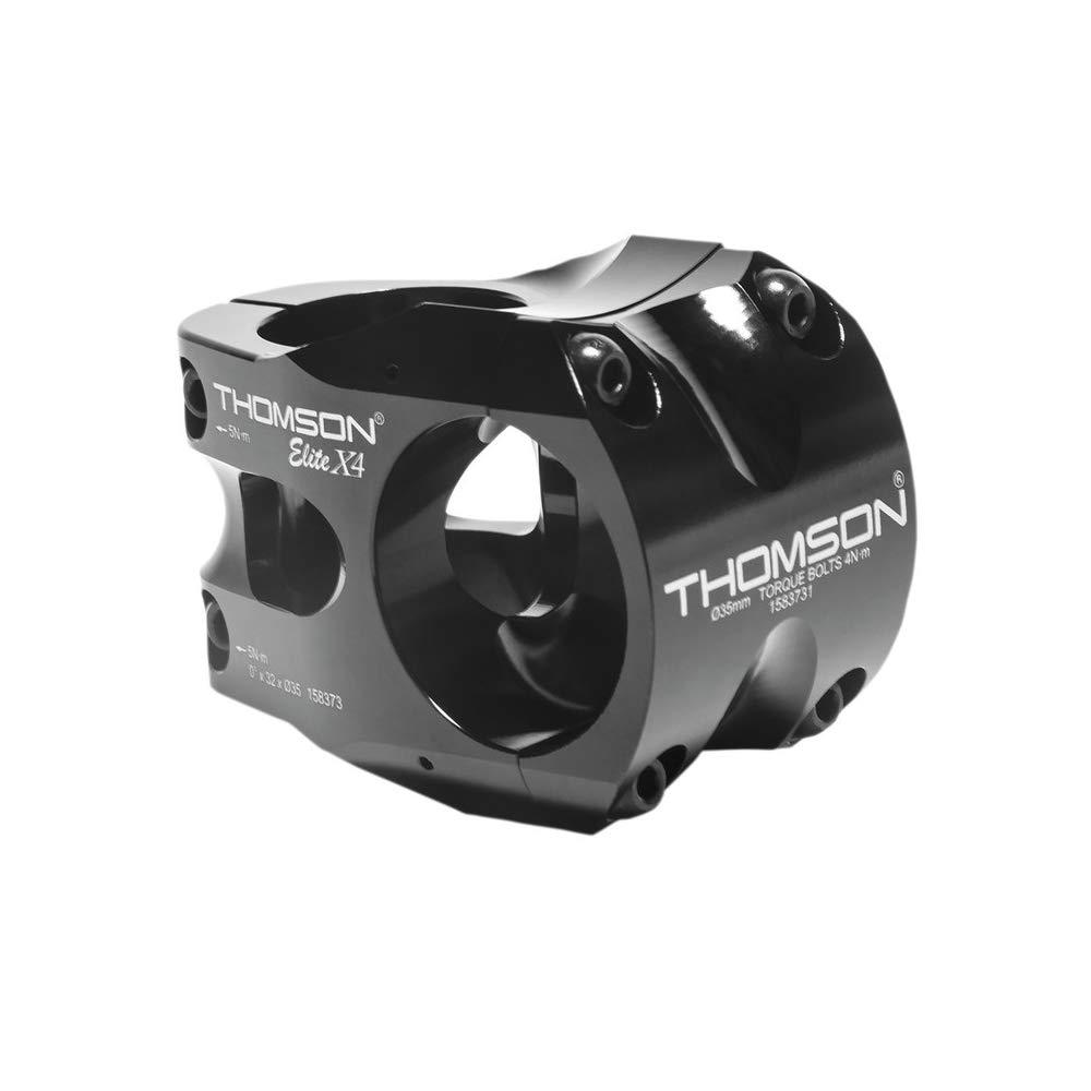"""Thomson A-Head Vorbau Elite X4 1-1/8""""x0Gradx32mmx35mm Lenkerkl. schwarz Fahrrad"""