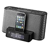 Sony ICF-CS10iPBLK iPod + iPhone Speaker Dock/Clock Radio