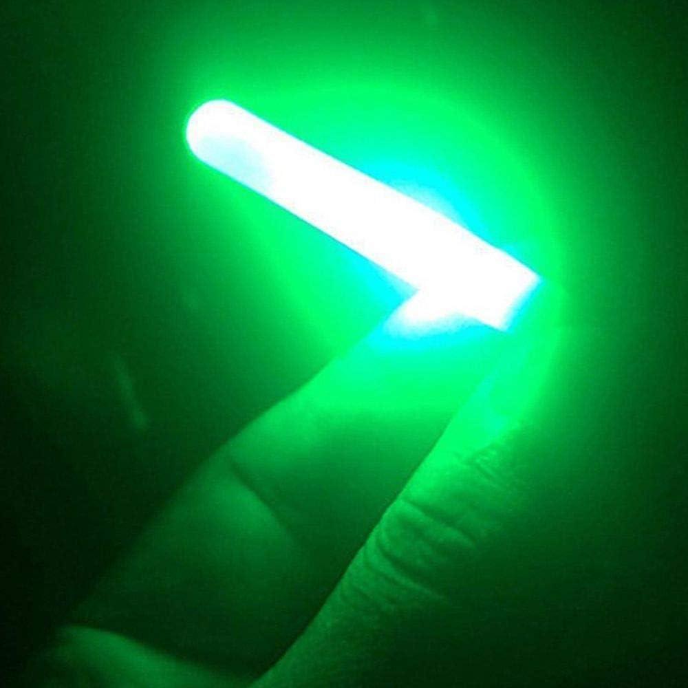 MZY1188 LED Light Clip,1 pc Night Fishing Rod Tip Clip Glow Stick Electronic Light Bite Lure Indicator Alarm Light Waterproof Glow Lamp
