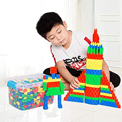 280/450pcs Classic Building Blocks Sets Stacking Nesting Construction Kits STEM Toys Bullets Block Toys for Children Kids Girls Boys Activity Mechanics Safe ABS Plastic With Storage Box Present by IBLUELOVER that we recomend personally.