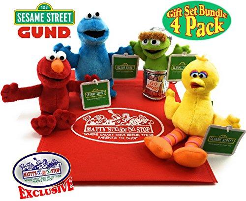 - Sesame Street Plush Beanbag Pals (5