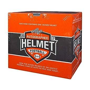 2017 Leaf Autographed Full Size Football Helmet