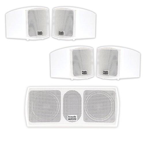 Acoustic Audio AA321W and AA32CW Mountable Indoor Speakers