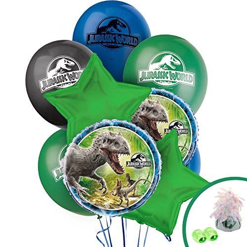 Jurassic World Party Supplies - Balloon Bouquet